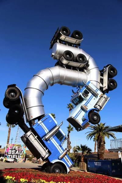 Big Rig Jig Balancing In Vegas Poster