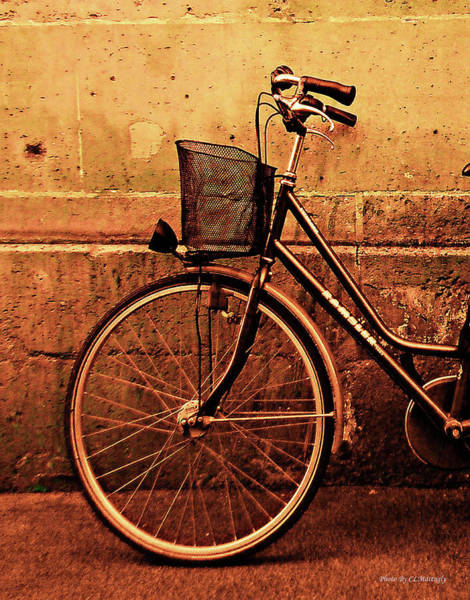 Bicycle At Rest, Paris  Poster