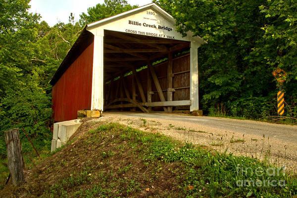Billie Creek Covered Bridge Poster