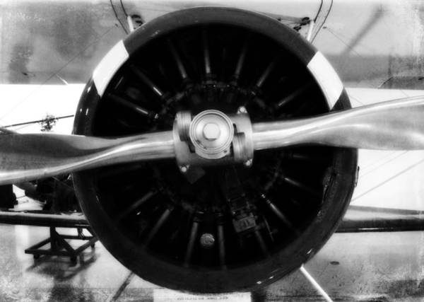 Biplane Propeller Poster
