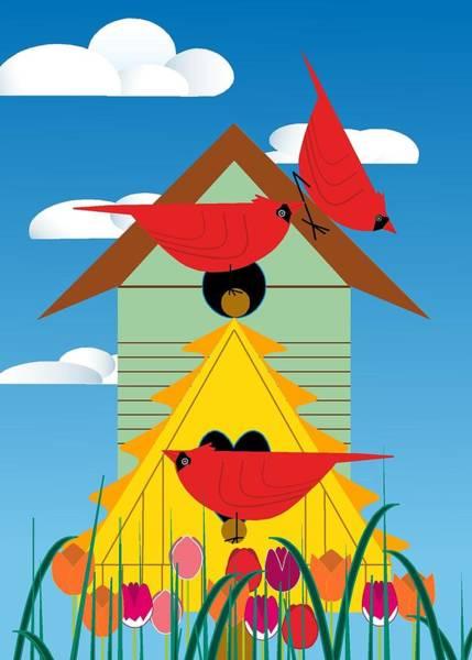 Bird Condo Poster