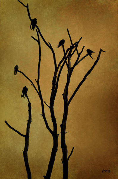 Birds In Tree Poster