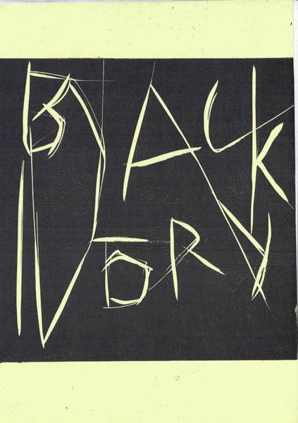 Black Ivory Title Page Poster