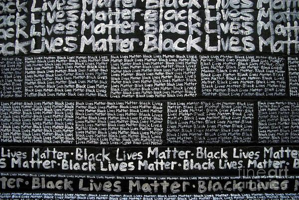 Black Lives Matter Wall Part 3 Of 9 Poster