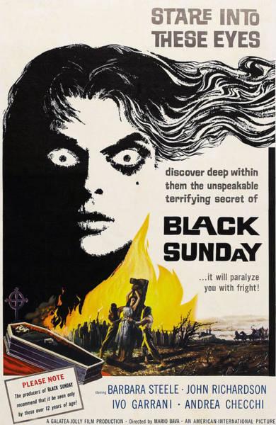Black Sunday, Barbara Steele, One-sheet Poster
