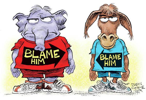 Blame Him Poster