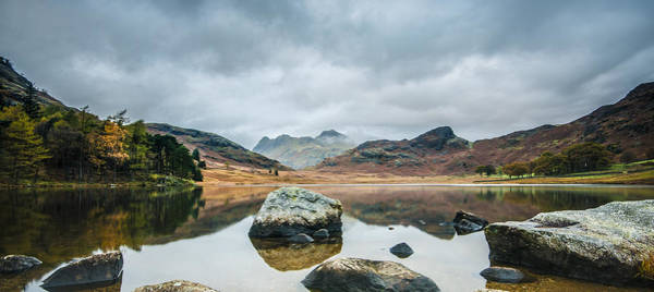 Blea Tarn In Cumbria Poster