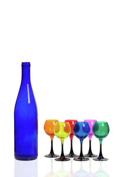 Blue Bottle #2429 Poster
