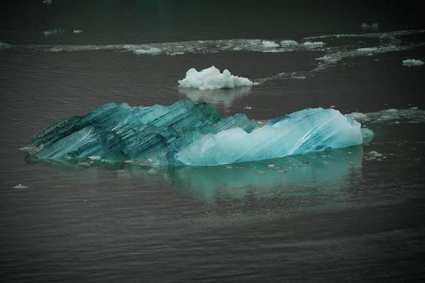 Blue Iceberg Poster
