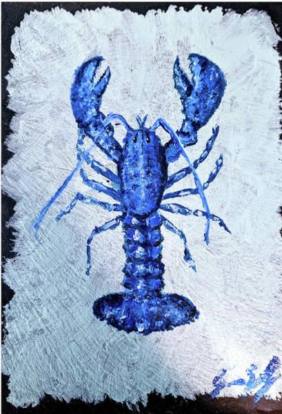 Blue Lobster 1 Poster