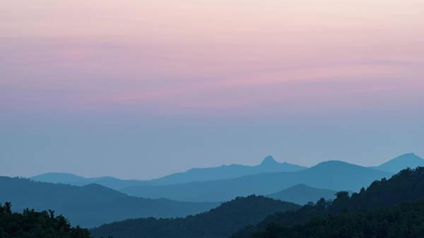Blue Ridge Mountains After Sunset Poster