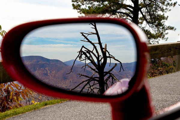 Blue Ridge Reflection Poster