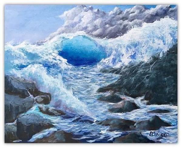 Blue Storm Poster