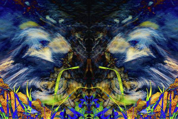 Blue Tigers Devil Poster