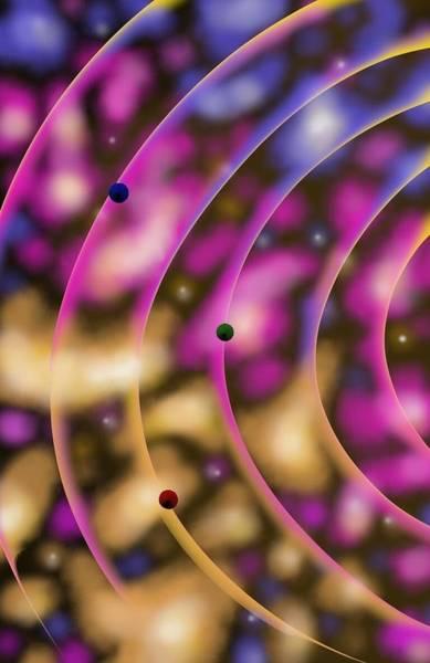 Blurred Lines 02 - Nebulaic Vibrations Poster