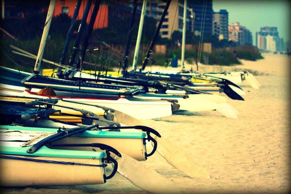 Boats Ashore Poster