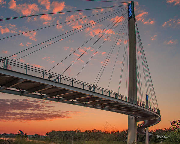 Bob Kerry Bridge At Sunrise-4 Poster