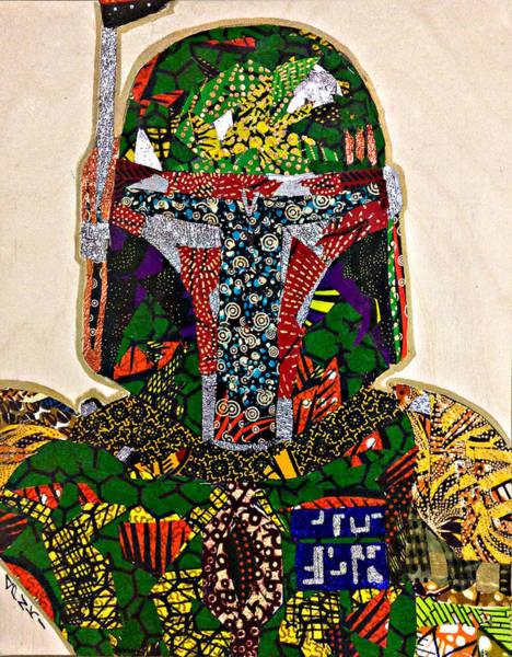 Boba Fett Star Wars Afrofuturist Collection Poster