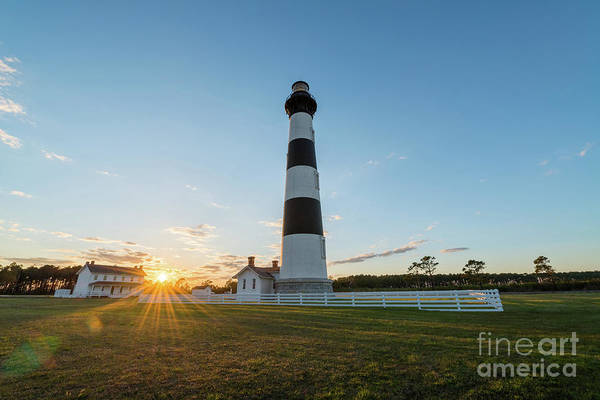 Bodie Island Sunset  Poster