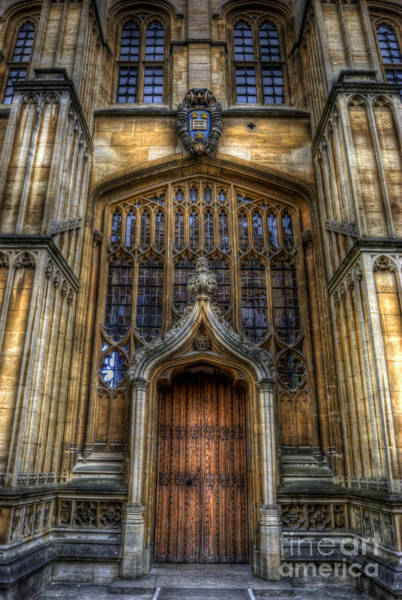 Bodleian Library Door - Oxford Poster