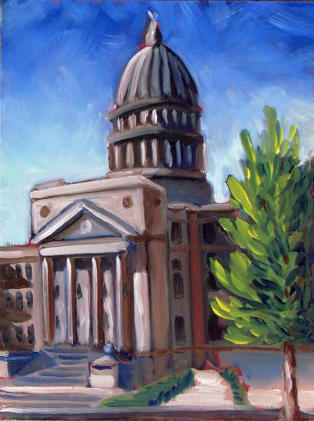 Boise Capitol Building 01 Poster