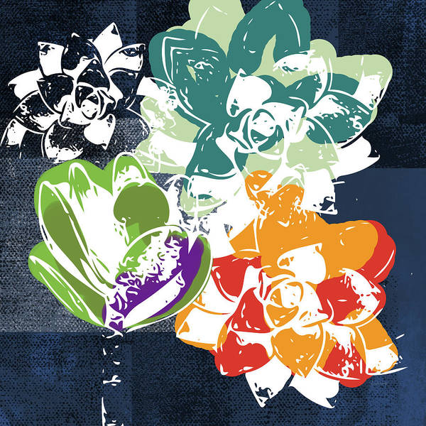 Bold Succulents 1- Art By Linda Woods Poster