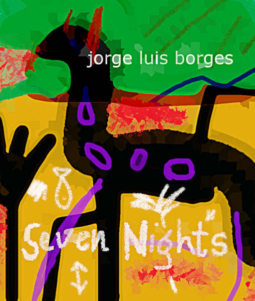Borges Seven Nights Poster  Poster