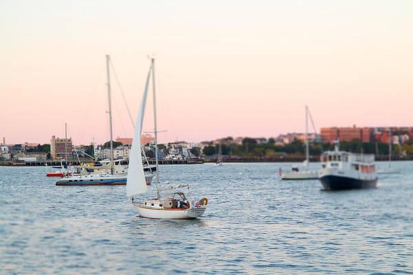 Boston Harbor View Poster