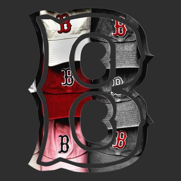 Boston Red Sox B Logo Poster