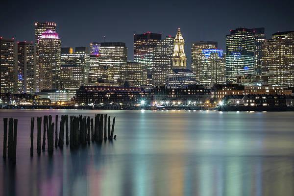 Boston's Skyline From Lopresti Park Poster