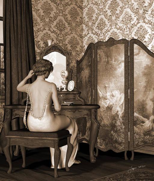 Boudoir Reflection Poster