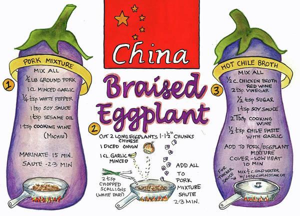 Braised Eggplant Poster