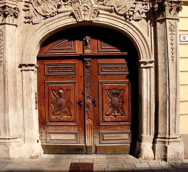 Bratislava Doors Poster