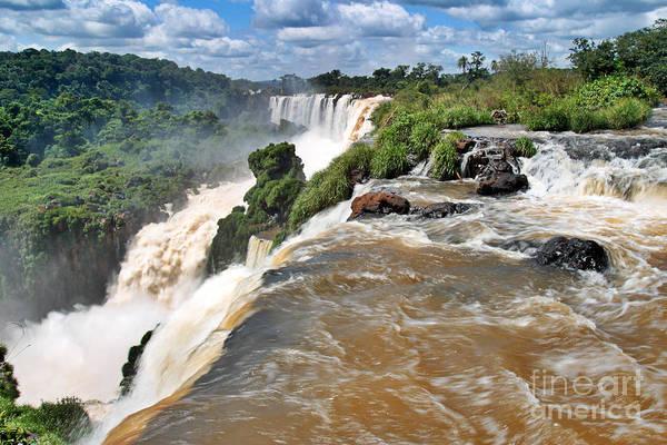 Poster featuring the photograph Brazil,iguazu Falls, by Juergen Held