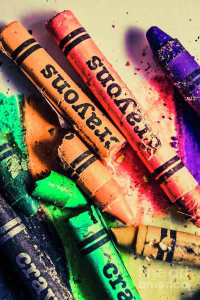 Breaking The Creative Spectrum Poster