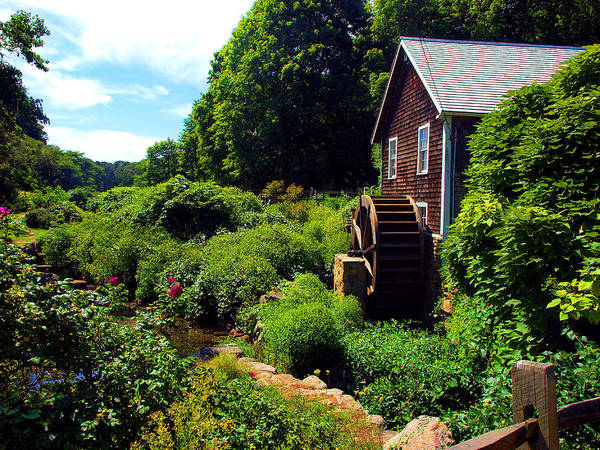 Brewster Gristmill Poster