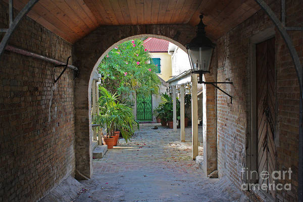 Brick Entryway Poster
