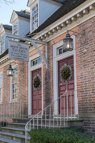 Brick House Tavern Colonial Williamsburg Poster