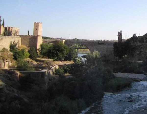 Bridge Across Toledo Poster