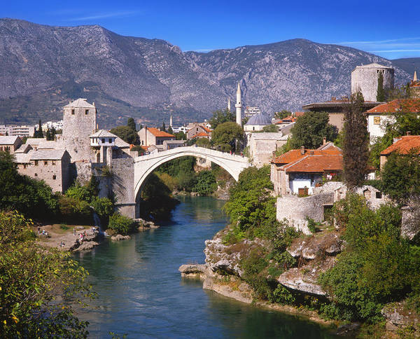 Bridge At Mostar  Poster