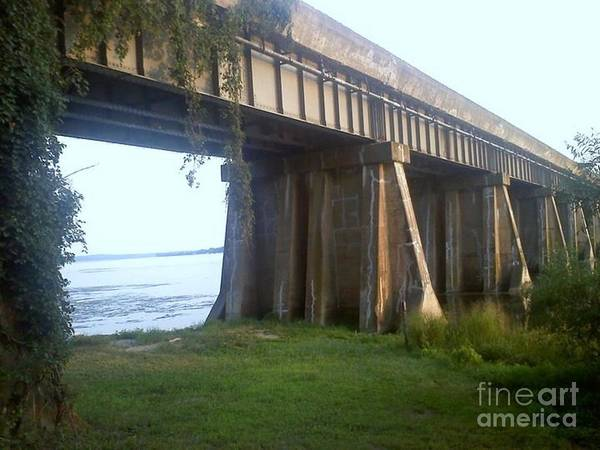 Bridge In Leesylvania Park Va Poster