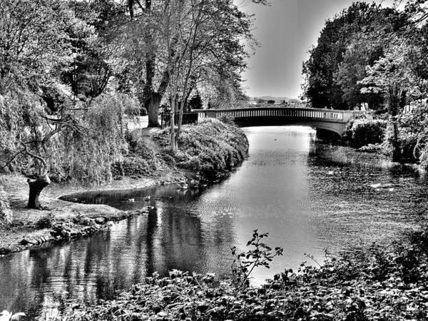 Bridge Over River Poster