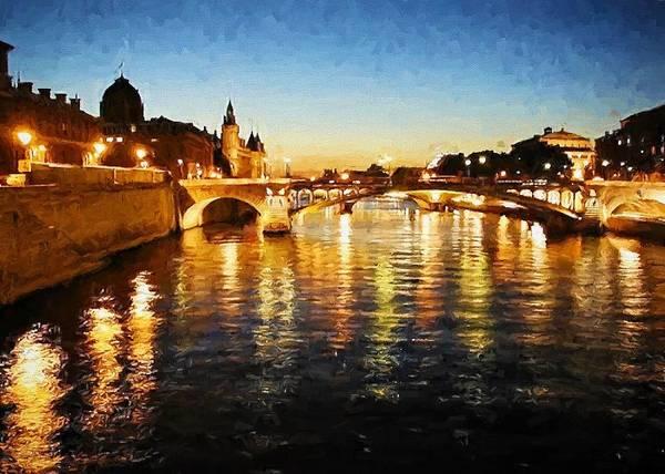 Bridge Over The Seine Poster