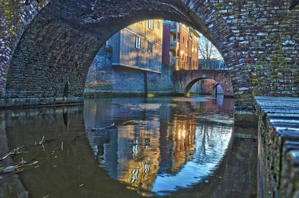 Bridges Across Binnendieze In Den Bosch Poster