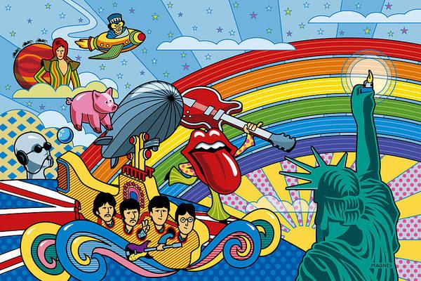 British Invasion Encore Poster