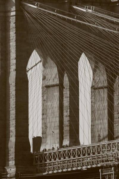 Brooklyn Bridge Afternoon Poster