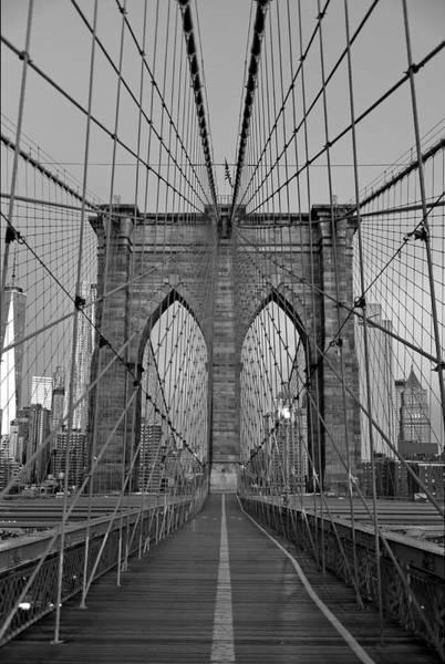 Brooklyn Bridge Tower Poster