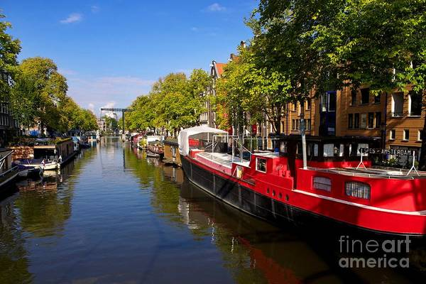 Brouwersgracht Canal In Amsterdam. Netherlands. Europe Poster