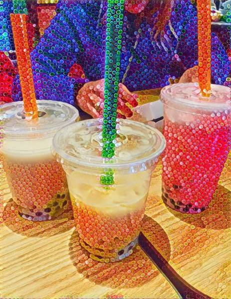Bubble Tea For Three Poster