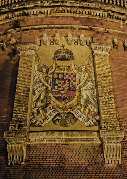 Budavari Palota Coat Of Arms Poster